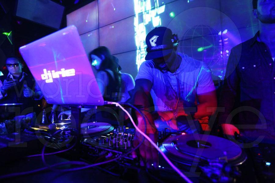 Irie DJ at WALLmiami South Beach