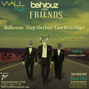 W South Beach and WALLmiami presents Behrouz & Friends
