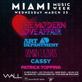 Miami Music Week 2015: Art Department + Damian Lazarus + Cassy + Patrick Topping