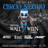 Circo Negro @ Halloween at WALLmiami w/DJ Showcase